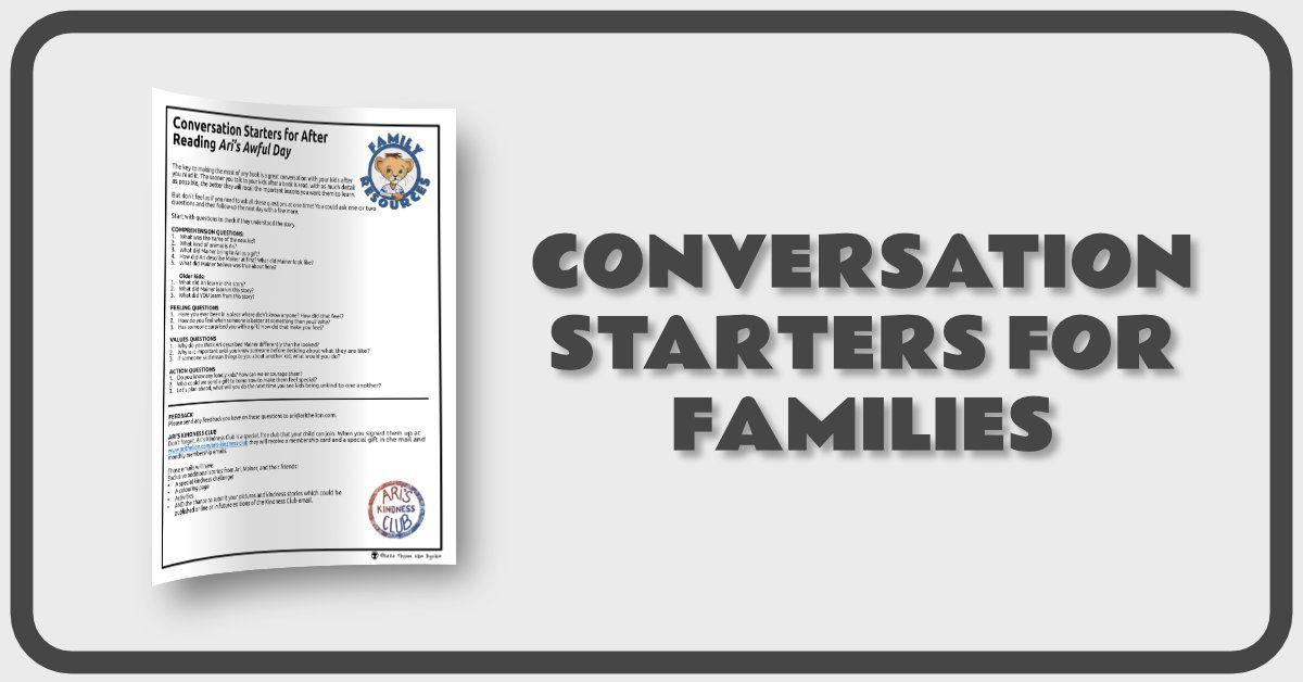 Conversation Starters Banner