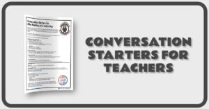 Conversation Starters for Teachers
