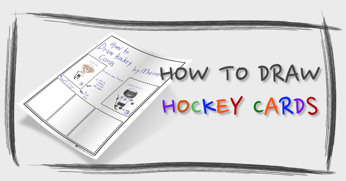 How to Draw Hockey Cards Banner