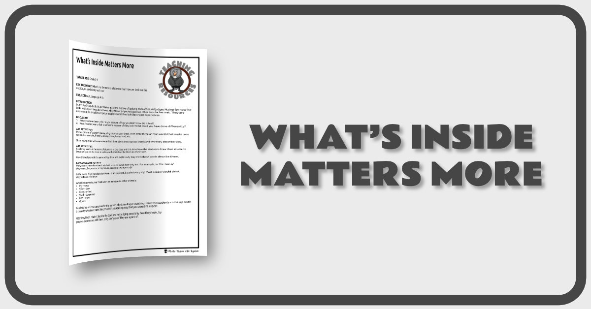 Whats Inside Matters More Banner