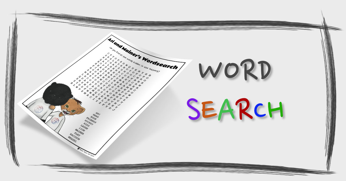 Word Search Page Banner