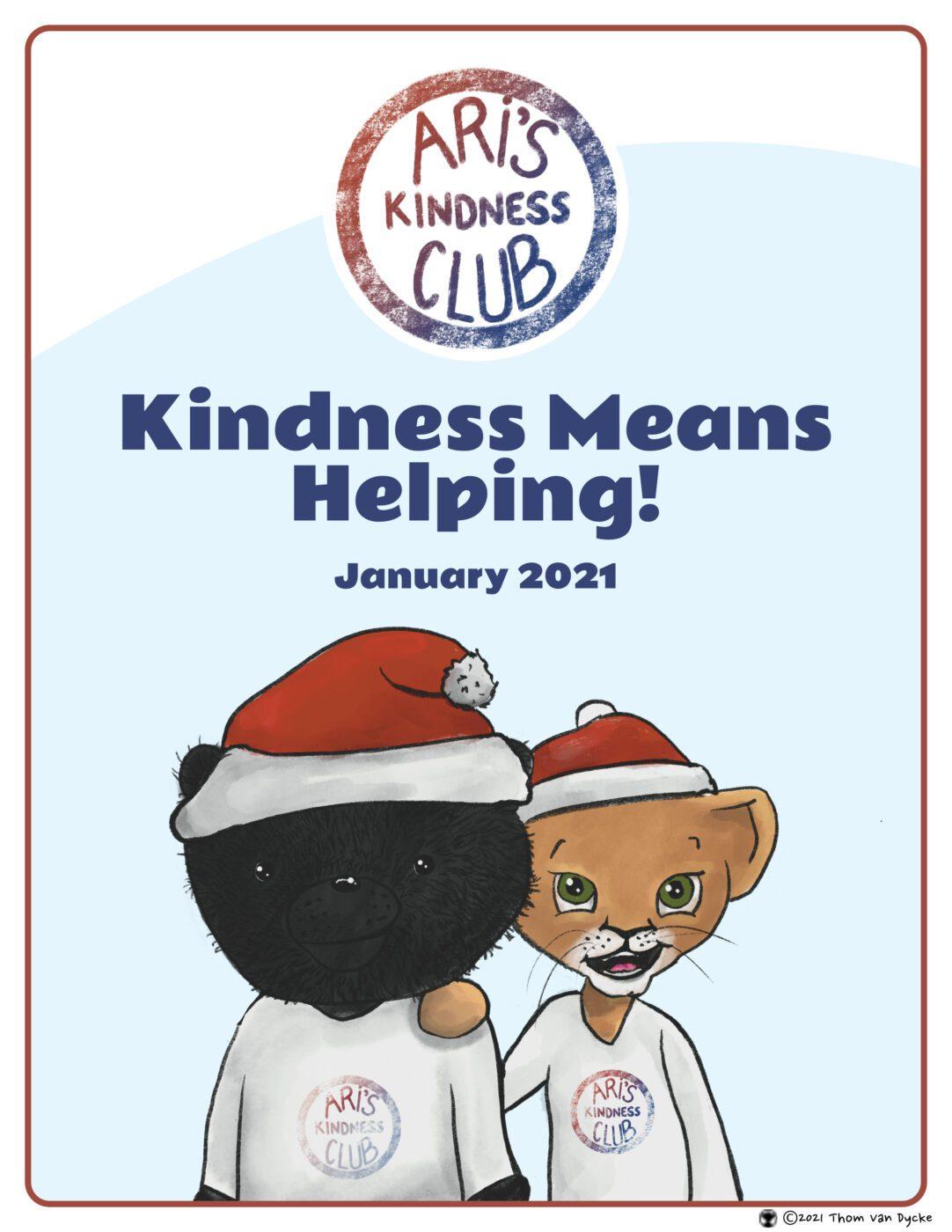 Aris Kindness Club, Kids Helping